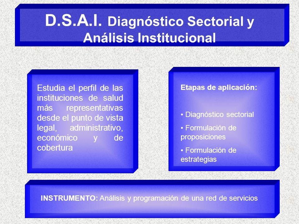 D.S.A.I. Diagnóstico Sectorial y Análisis Institucional