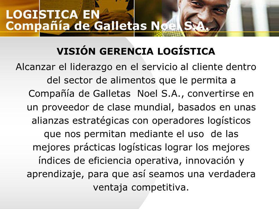 LOGISTICA EN Compañía de Galletas Noel S.A.