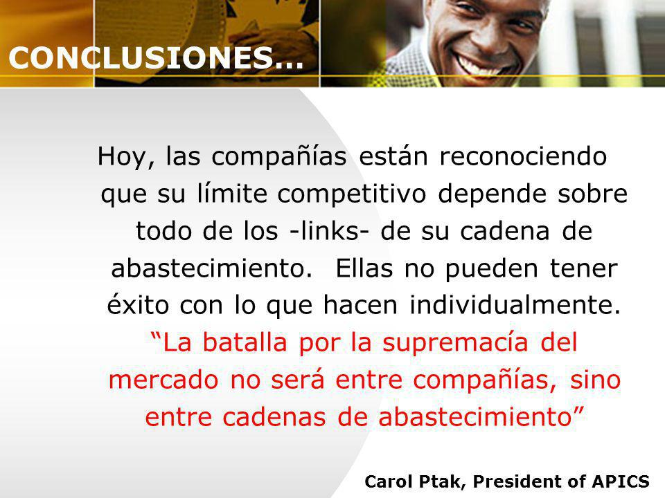 Carol Ptak, President of APICS
