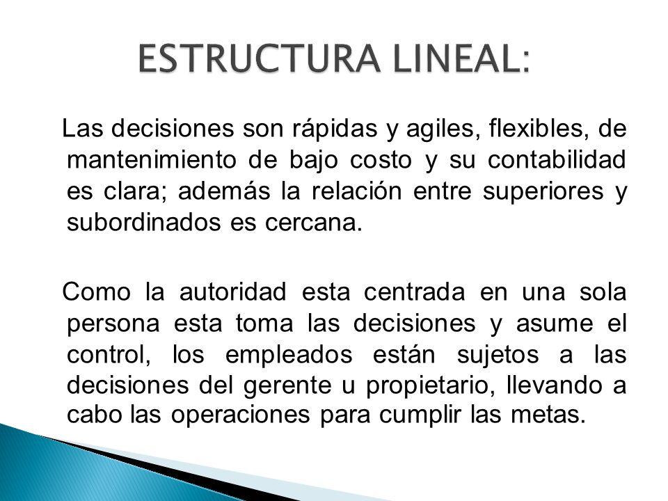 ESTRUCTURA LINEAL: