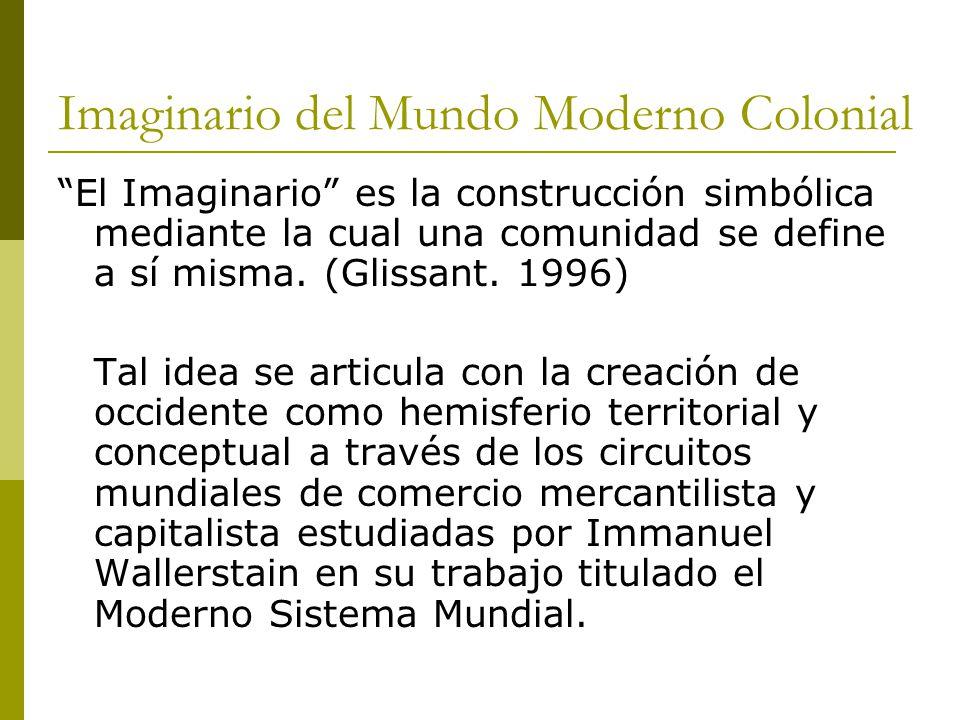 Imaginario del Mundo Moderno Colonial