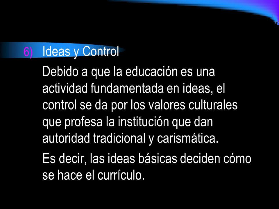 Ideas y Control