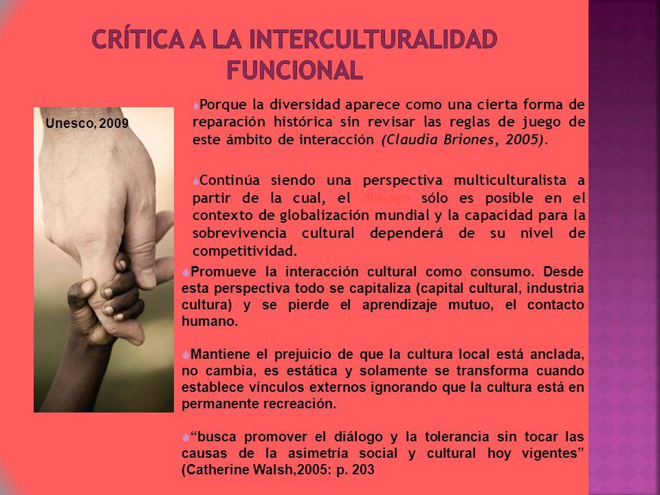 Crítica a la Interculturalidad funcional