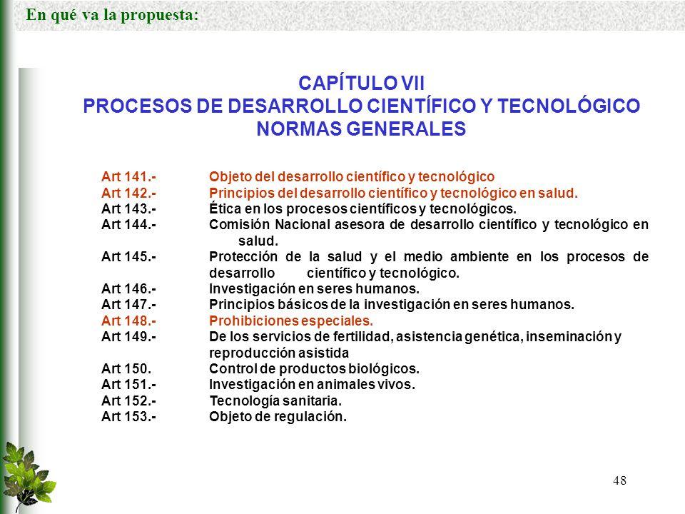 PROCESOS DE DESARROLLO CIENTÍFICO Y TECNOLÓGICO