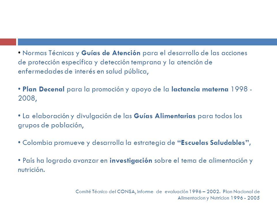 Colombia promueve y desarrolla la estrategia de Escuelas Saludables ,