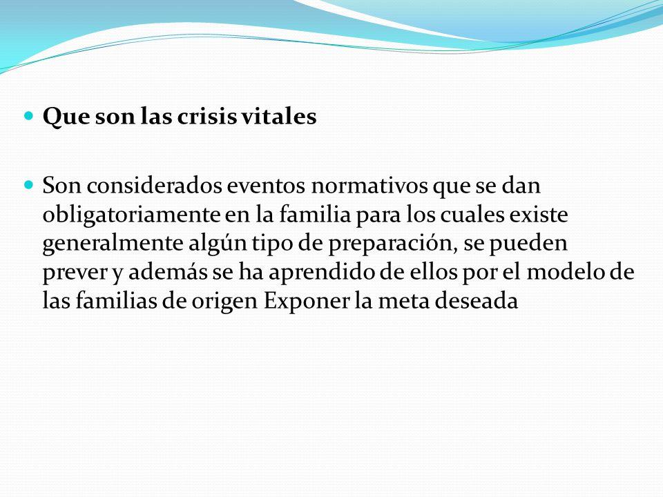 CONCEPCIÓN SISTÉMICA DE LAS CRISIS
