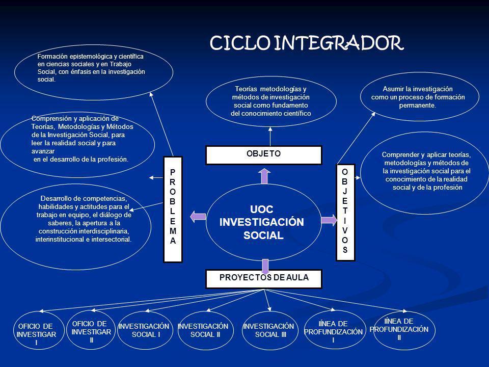 CICLO INTEGRADOR UOC INVESTIGACIÓN SOCIAL