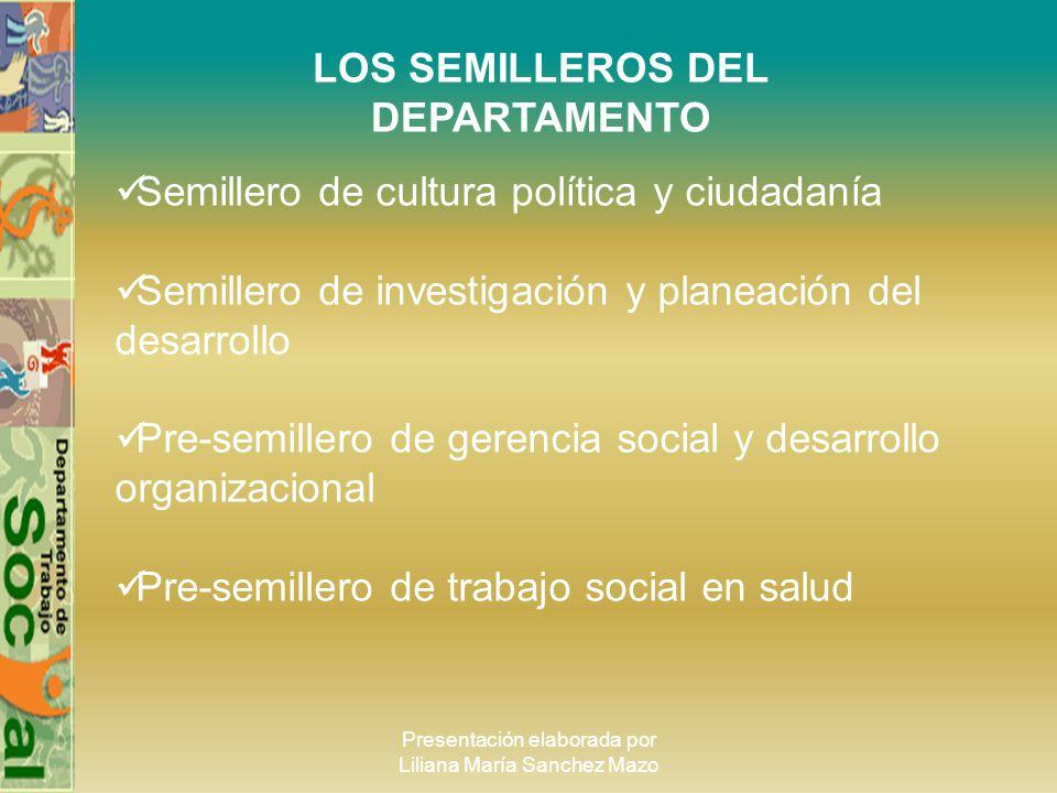 LOS SEMILLEROS DEL DEPARTAMENTO