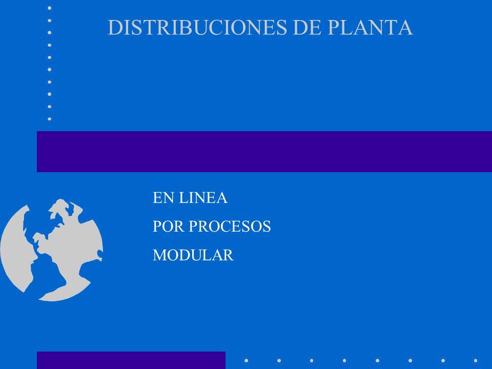 DISTRIBUCIONES DE PLANTA