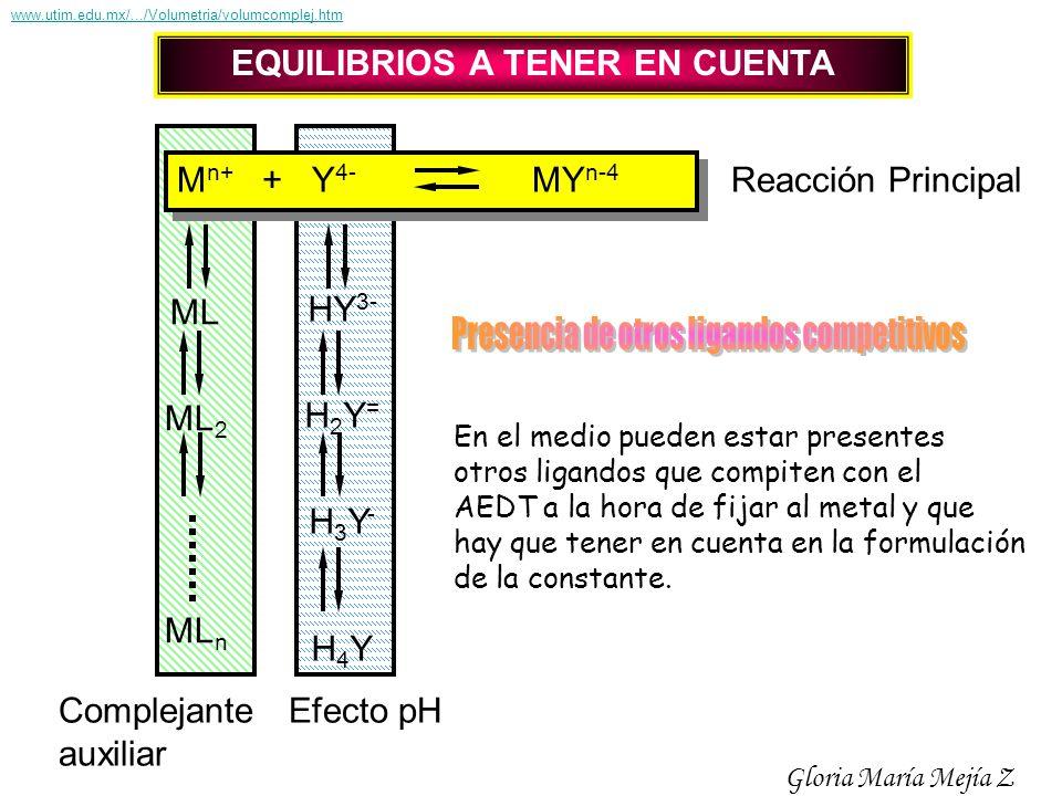 EQUILIBRIOS A TENER EN CUENTA