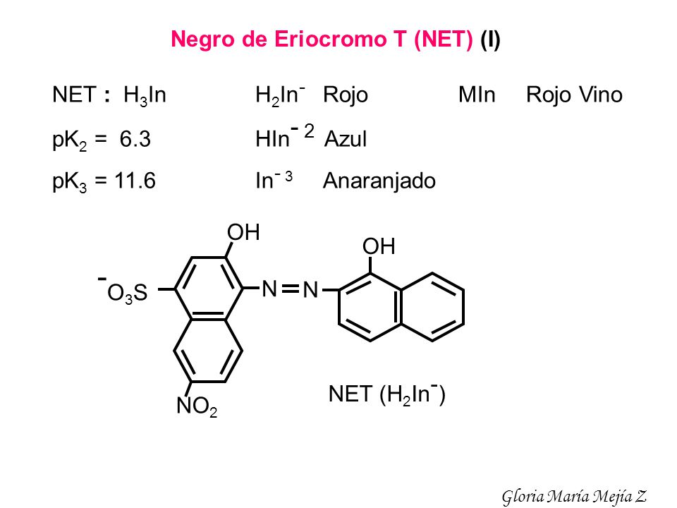 -O3S Negro de Eriocromo T (NET) (I)