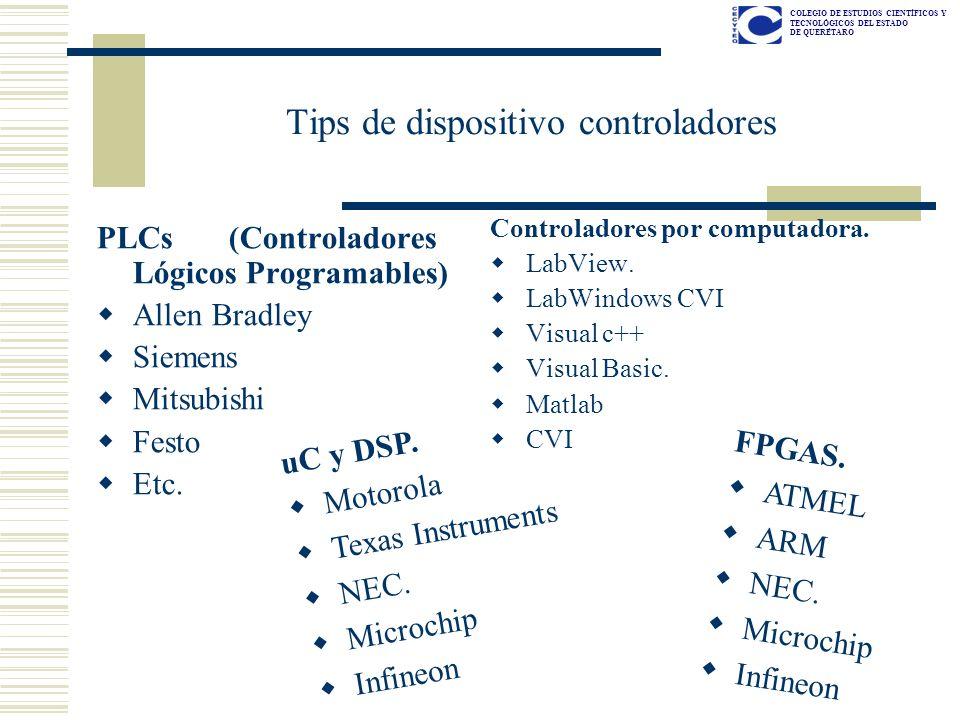 Tips de dispositivo controladores
