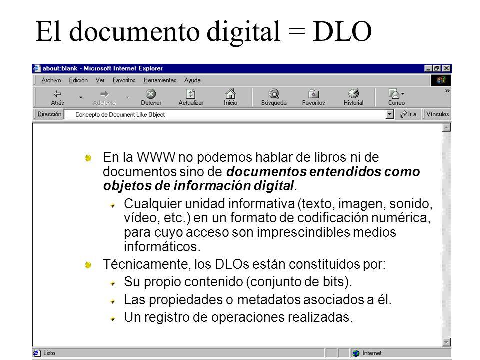 El documento digital = DLO