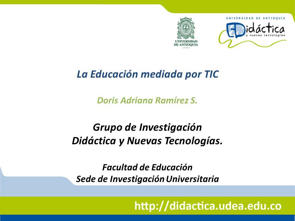 La Educación mediada por TIC