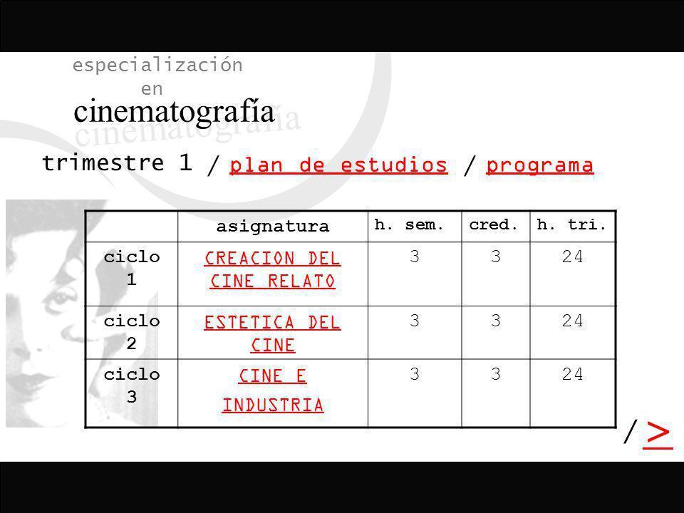 CREACION DEL CINE RELATO