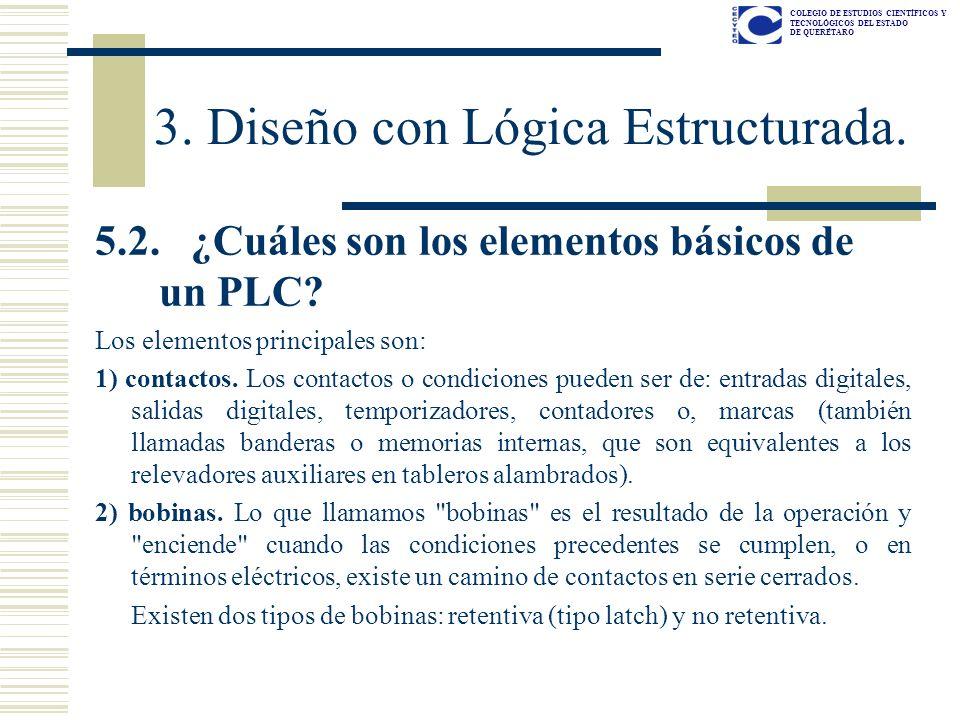 3. Diseño con Lógica Estructurada.