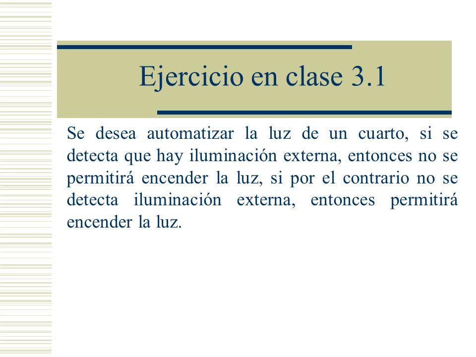 Ejercicio en clase 3.1