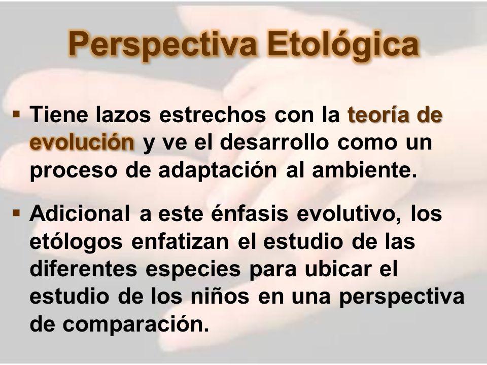 Perspectiva Etológica