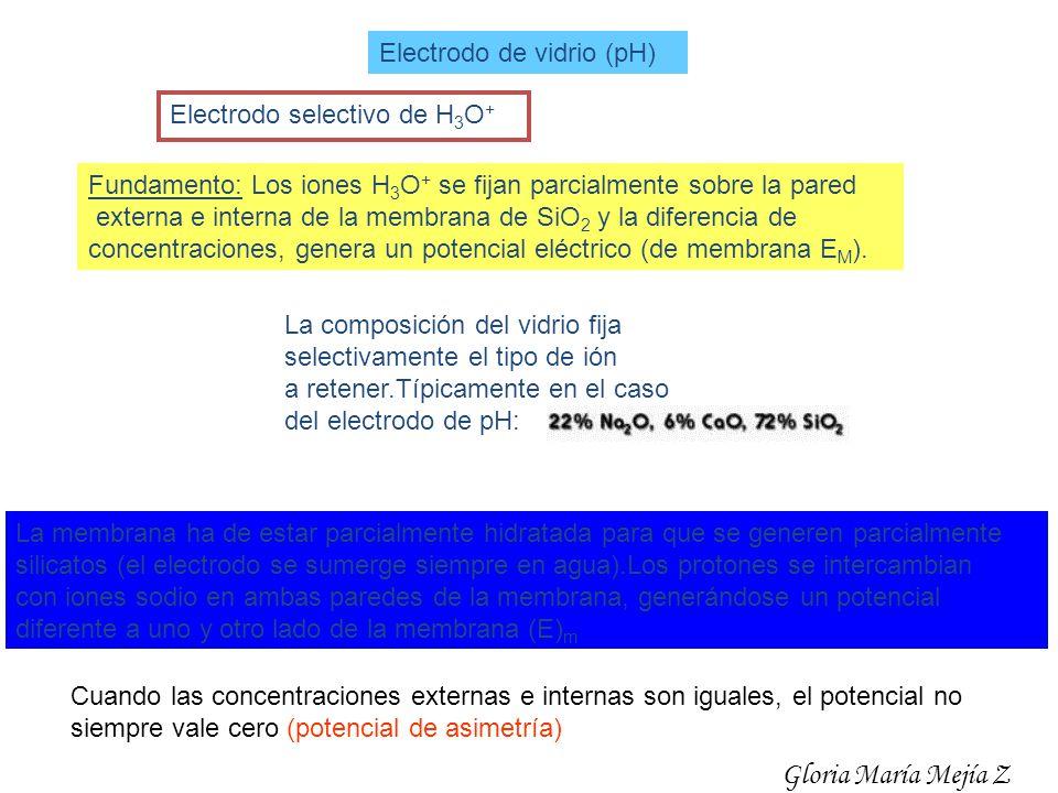 Gloria María Mejía Z Electrodo de vidrio (pH)
