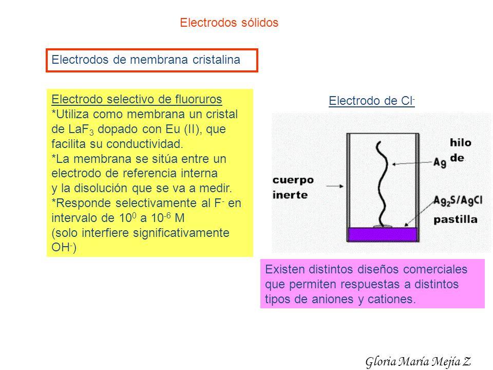 Gloria María Mejía Z Electrodos sólidos