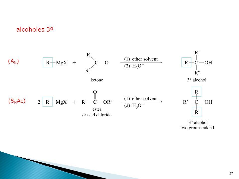 alcoholes 3º (AN) (SNAc)