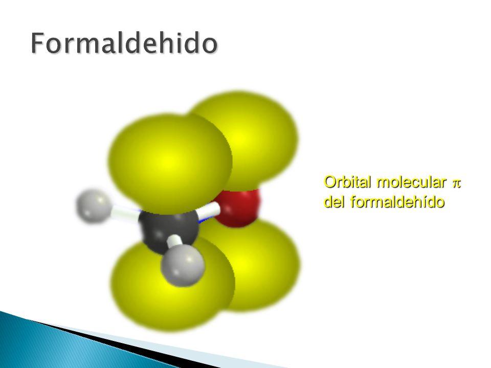 Formaldehido Orbital molecular p del formaldehído