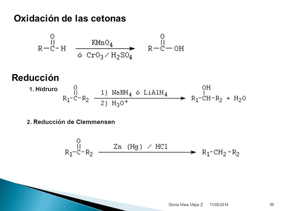 Oxidación de las cetonas