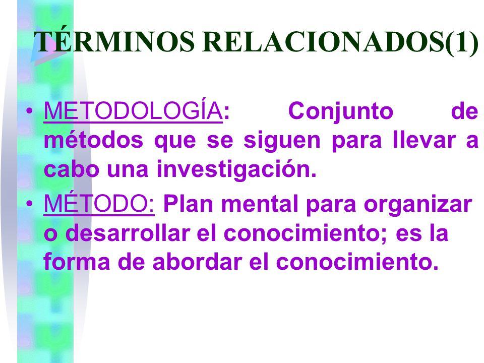 TÉRMINOS RELACIONADOS(1)