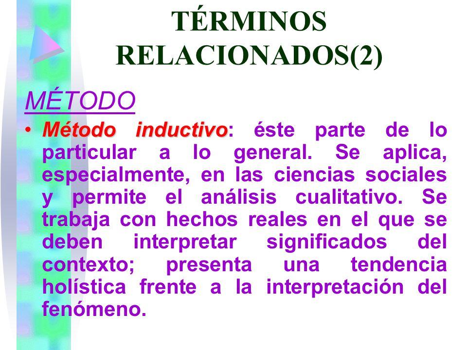 TÉRMINOS RELACIONADOS(2)
