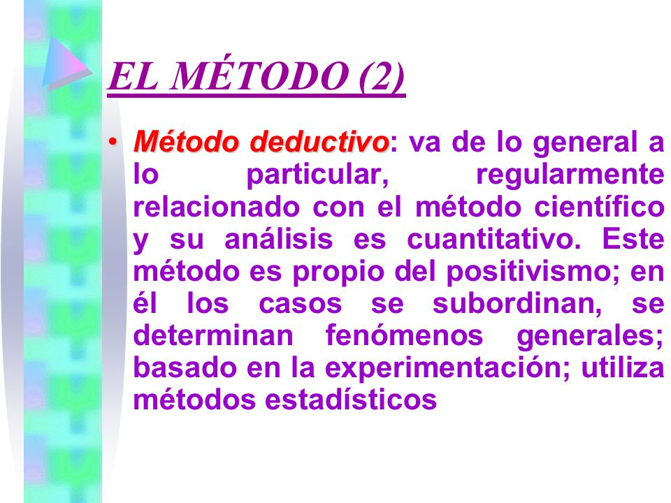 EL MÉTODO (2)