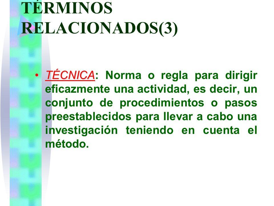 TÉRMINOS RELACIONADOS(3)