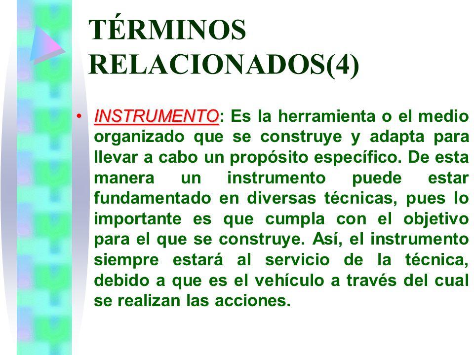 TÉRMINOS RELACIONADOS(4)