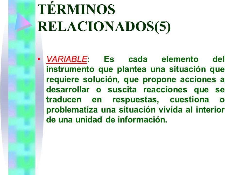 TÉRMINOS RELACIONADOS(5)