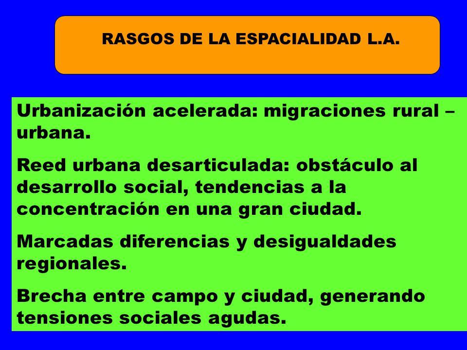 RASGOS DE LA ESPACIALIDAD L.A.