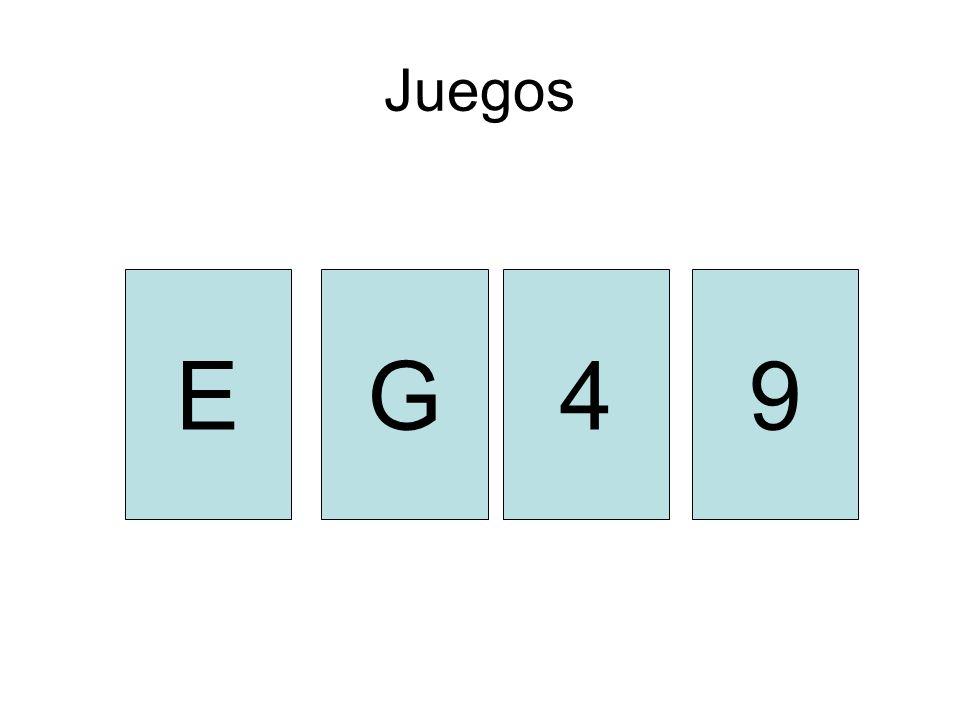 Juegos E G 4 9