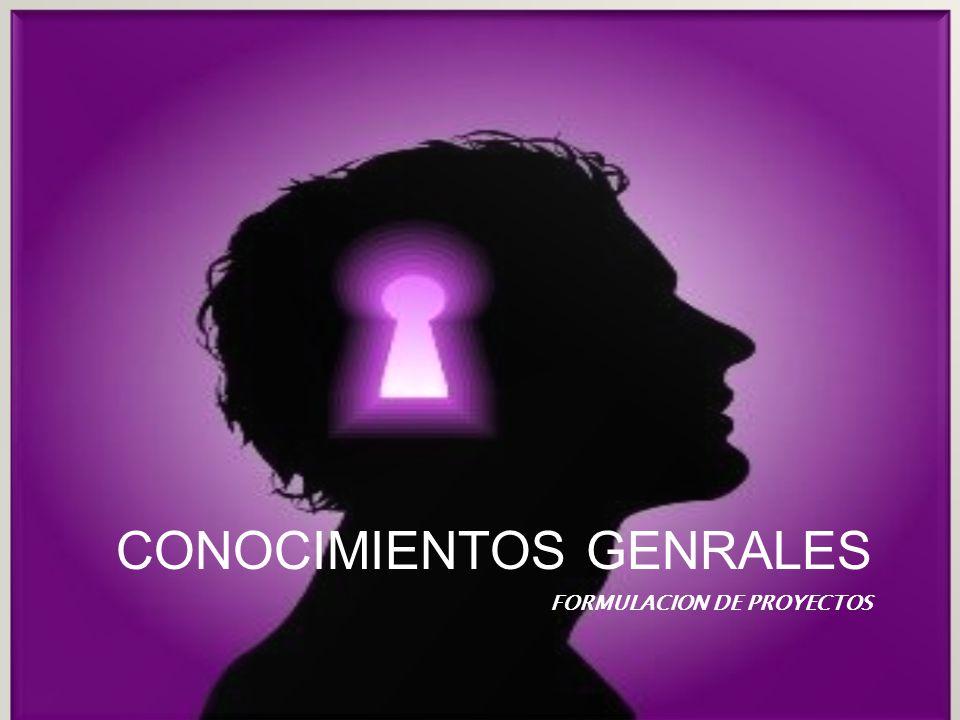 CONOCIMIENTOS GENRALES