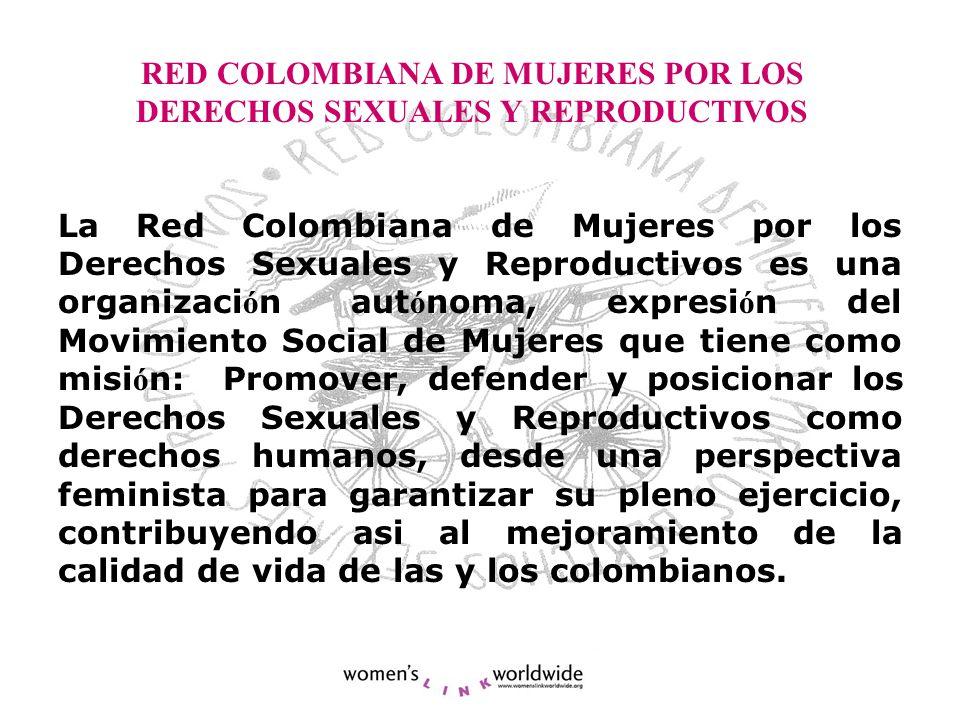 RED COLOMBIANA DE MUJERES POR LOS DERECHOS SEXUALES Y REPRODUCTIVOS