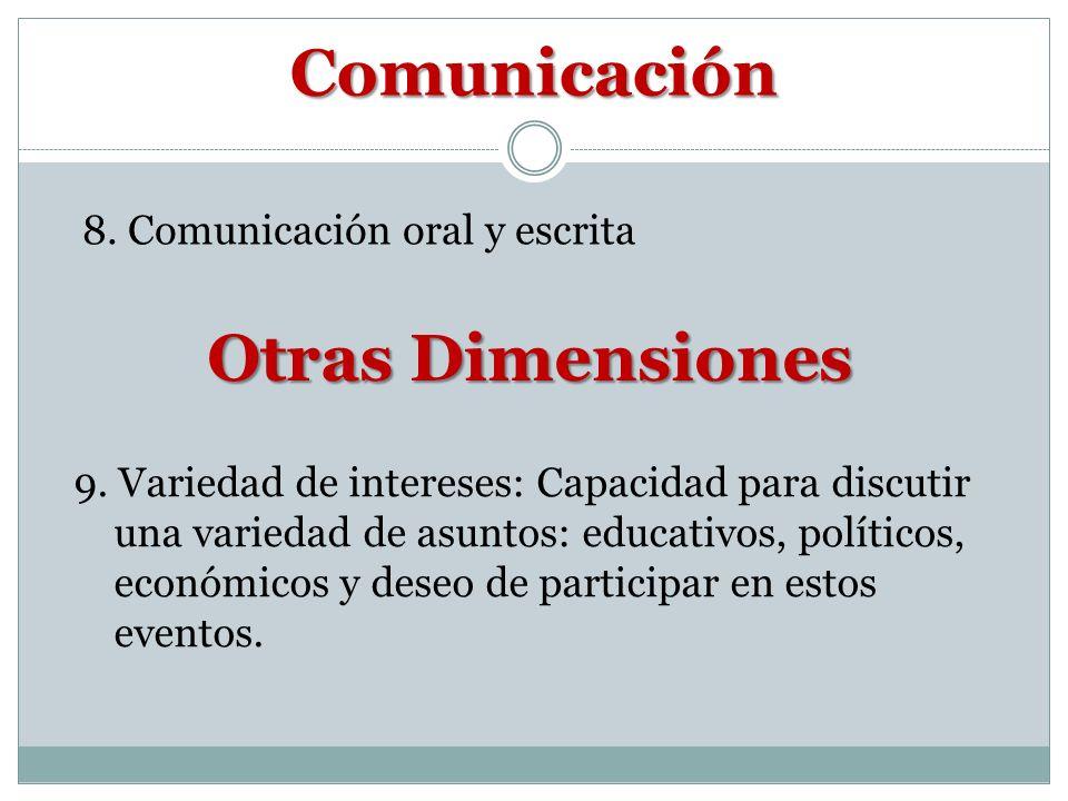 Comunicación Otras Dimensiones