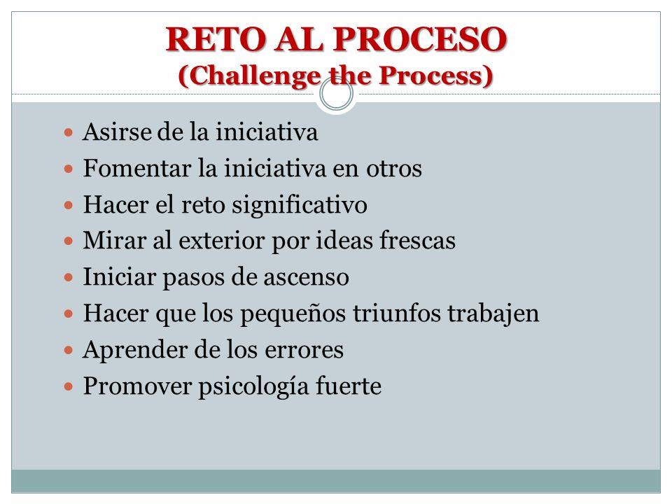 RETO AL PROCESO (Challenge the Process)