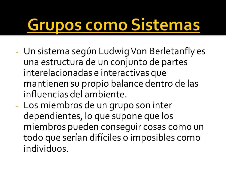Grupos como Sistemas