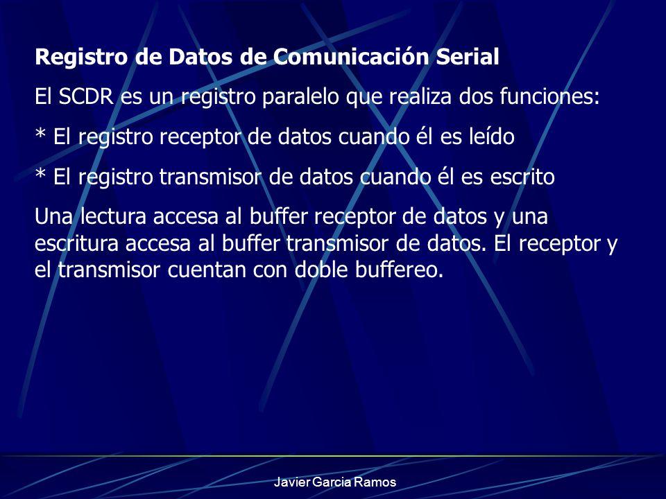 Registro de Datos de Comunicación Serial