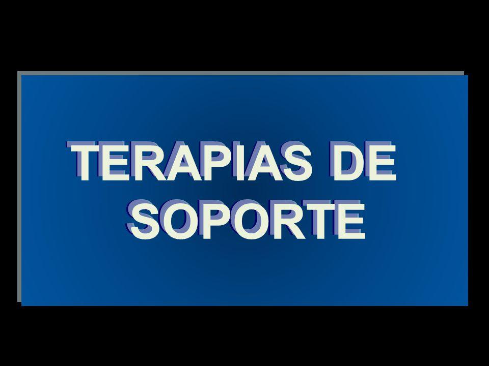 TERAPIAS DE SOPORTE TERAPIAS DE SOPORTE