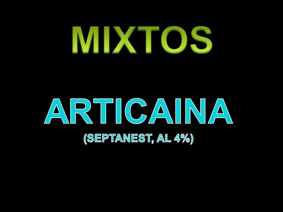 MIXTOS ARTICAINA (SEPTANEST, AL 4%)