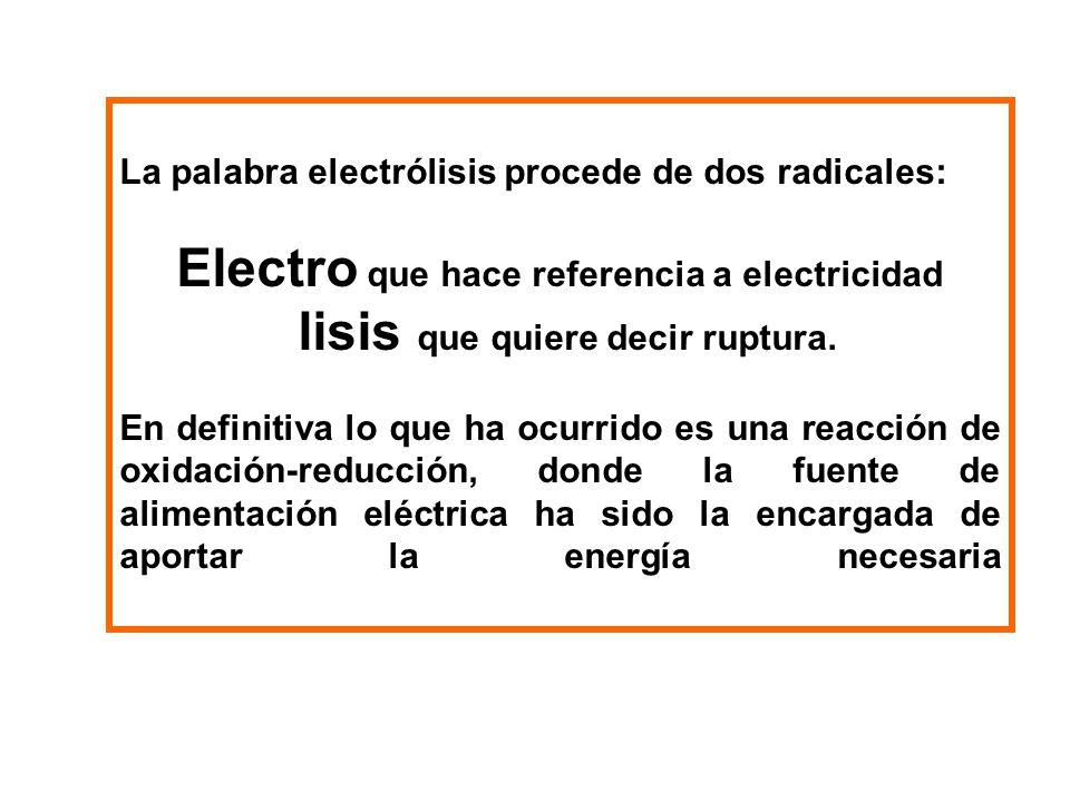 Electro que hace referencia a electricidad
