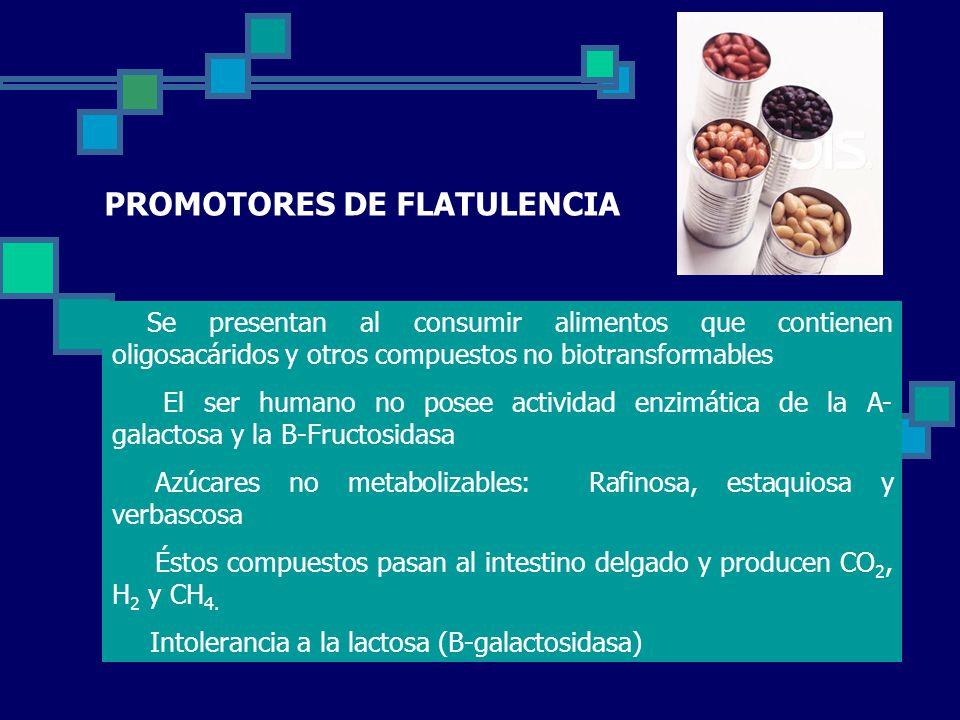PROMOTORES DE FLATULENCIA