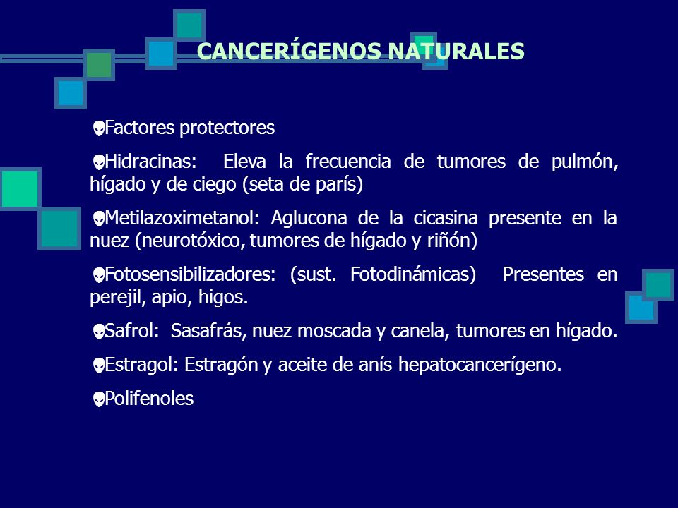 CANCERÍGENOS NATURALES