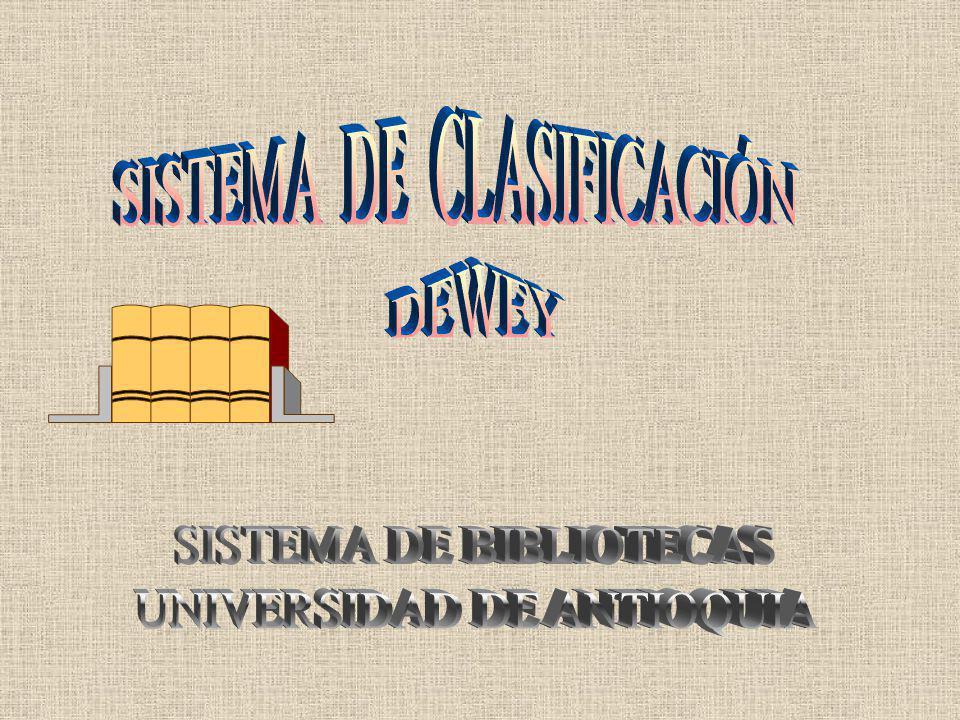 SISTEMA DE CLASIFICACIÓN