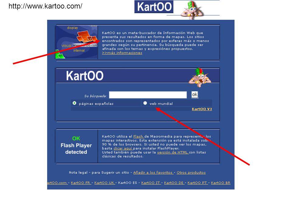 http://www.kartoo.com/ Todo funciona en Flash