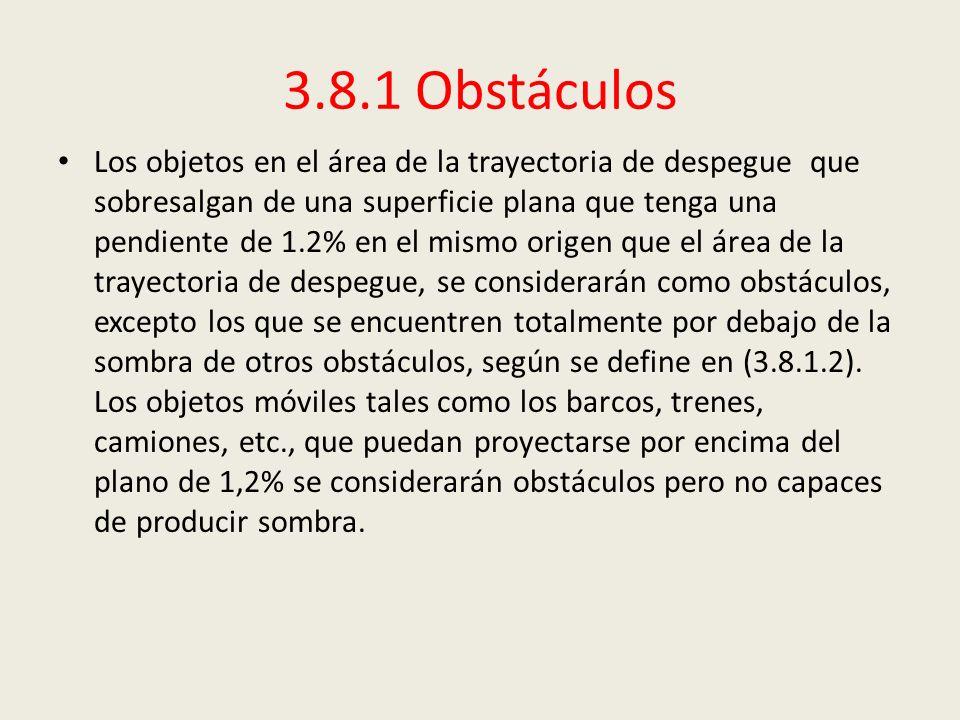 3.8.1 Obstáculos