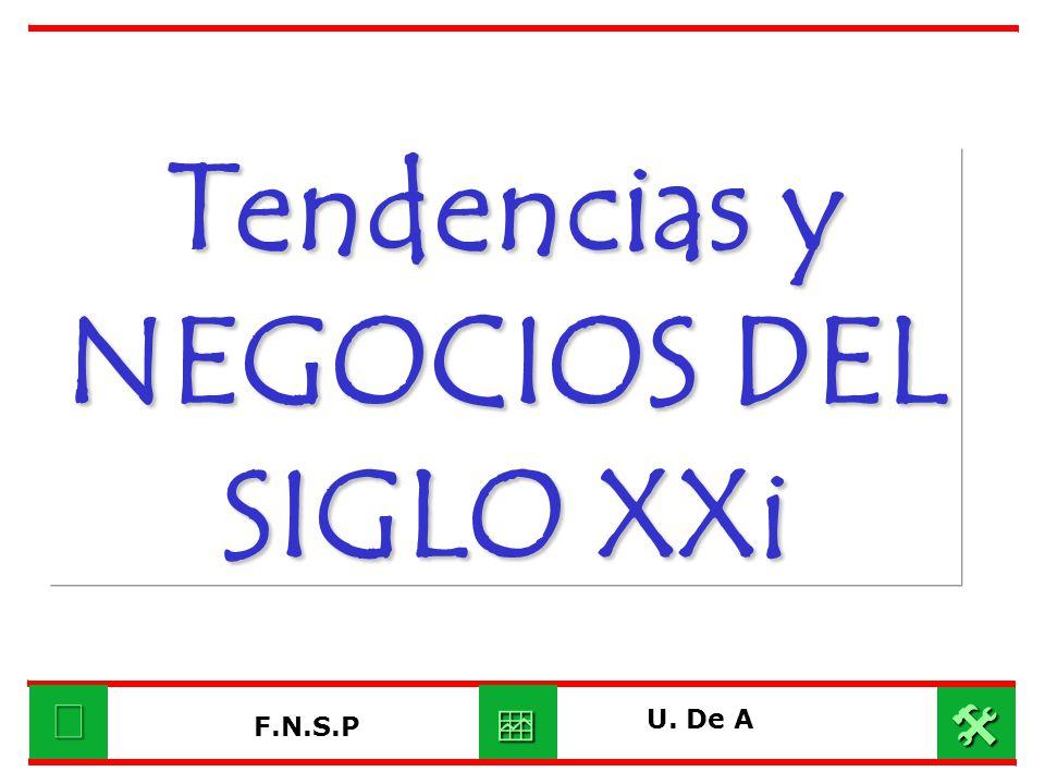 Tendencias y NEGOCIOS DEL SIGLO XXi